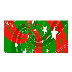 Background Abstract Christmas Satin Wrap