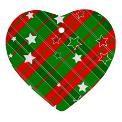 Background Abstract Christmas Ornament (Heart)