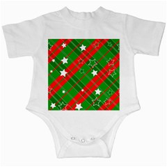 Background Abstract Christmas Infant Creepers