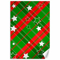 Background Abstract Christmas Canvas 12  x 18
