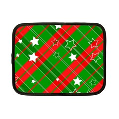 Background Abstract Christmas Netbook Case (Small)
