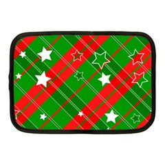 Background Abstract Christmas Netbook Case (Medium)