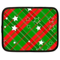 Background Abstract Christmas Netbook Case (large)