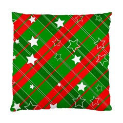 Background Abstract Christmas Standard Cushion Case (Two Sides)