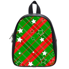 Background Abstract Christmas School Bags (Small)