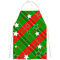 Background Abstract Christmas Full Print Aprons