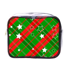 Background Abstract Christmas Mini Toiletries Bags