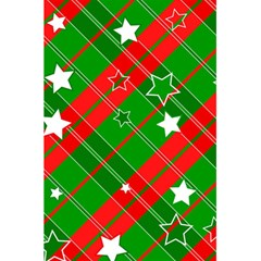 Background Abstract Christmas 5.5  x 8.5  Notebooks