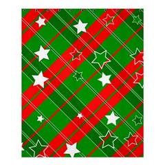 Background Abstract Christmas Shower Curtain 60  x 72  (Medium)