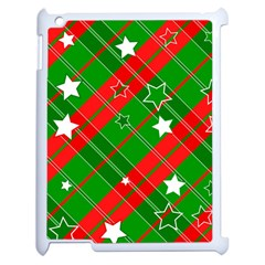 Background Abstract Christmas Apple Ipad 2 Case (white)