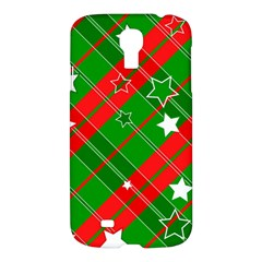 Background Abstract Christmas Samsung Galaxy S4 I9500/i9505 Hardshell Case