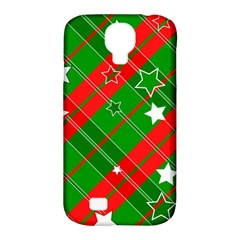 Background Abstract Christmas Samsung Galaxy S4 Classic Hardshell Case (pc+silicone)
