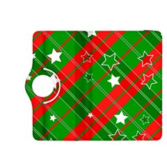 Background Abstract Christmas Kindle Fire HDX 8.9  Flip 360 Case