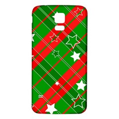 Background Abstract Christmas Samsung Galaxy S5 Back Case (White)