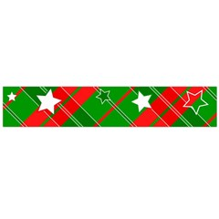 Background Abstract Christmas Flano Scarf (Large)
