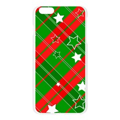 Background Abstract Christmas Apple Seamless iPhone 6 Plus/6S Plus Case (Transparent)