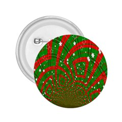 Background Abstract Christmas Pattern 2.25  Buttons
