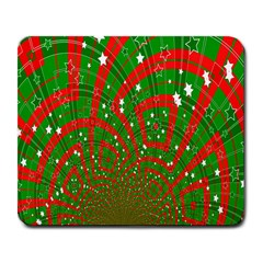 Background Abstract Christmas Pattern Large Mousepads