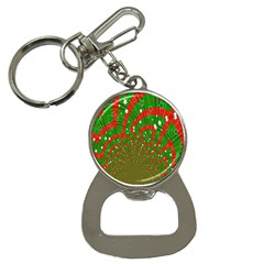 Background Abstract Christmas Pattern Button Necklaces