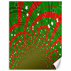 Background Abstract Christmas Pattern Canvas 12  x 16