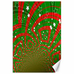Background Abstract Christmas Pattern Canvas 20  x 30