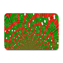 Background Abstract Christmas Pattern Plate Mats