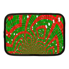 Background Abstract Christmas Pattern Netbook Case (Medium)