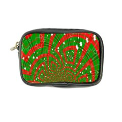 Background Abstract Christmas Pattern Coin Purse