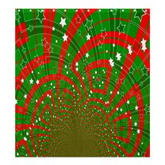 Background Abstract Christmas Pattern Shower Curtain 66  x 72  (Large)