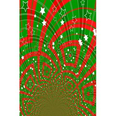 Background Abstract Christmas Pattern 5.5  x 8.5  Notebooks