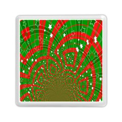 Background Abstract Christmas Pattern Memory Card Reader (square)