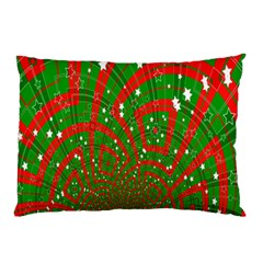 Background Abstract Christmas Pattern Pillow Case (Two Sides)