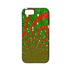 Background Abstract Christmas Pattern Apple iPhone 5 Classic Hardshell Case (PC+Silicone)