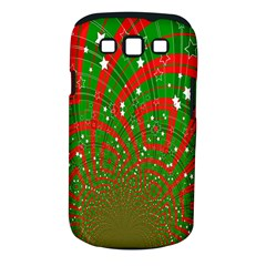 Background Abstract Christmas Pattern Samsung Galaxy S III Classic Hardshell Case (PC+Silicone)