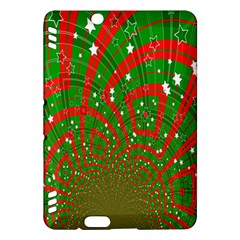 Background Abstract Christmas Pattern Kindle Fire Hdx Hardshell Case