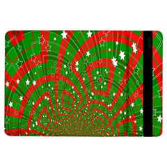 Background Abstract Christmas Pattern iPad Air Flip