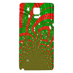Background Abstract Christmas Pattern Galaxy Note 4 Back Case
