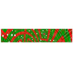 Background Abstract Christmas Pattern Flano Scarf (Large)