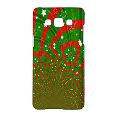 Background Abstract Christmas Pattern Samsung Galaxy A5 Hardshell Case