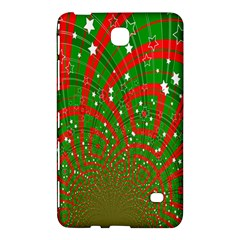 Background Abstract Christmas Pattern Samsung Galaxy Tab 4 (7 ) Hardshell Case