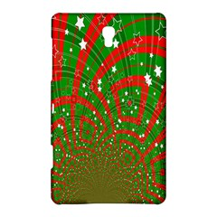 Background Abstract Christmas Pattern Samsung Galaxy Tab S (8.4 ) Hardshell Case