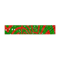 Background Abstract Christmas Pattern Flano Scarf (mini)