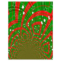 Background Abstract Christmas Pattern Drawstring Bag (large)