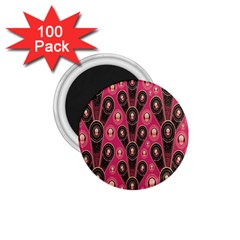 Background Abstract Pattern 1.75  Magnets (100 pack)