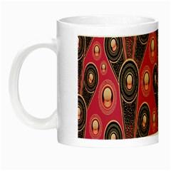 Background Abstract Pattern Night Luminous Mugs