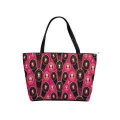 Background Abstract Pattern Shoulder Handbags