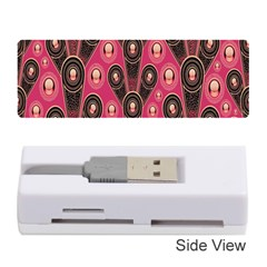 Background Abstract Pattern Memory Card Reader (Stick)