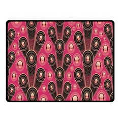 Background Abstract Pattern Double Sided Fleece Blanket (Small)