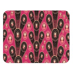 Background Abstract Pattern Double Sided Flano Blanket (Large)