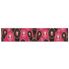 Background Abstract Pattern Flano Scarf (Small)